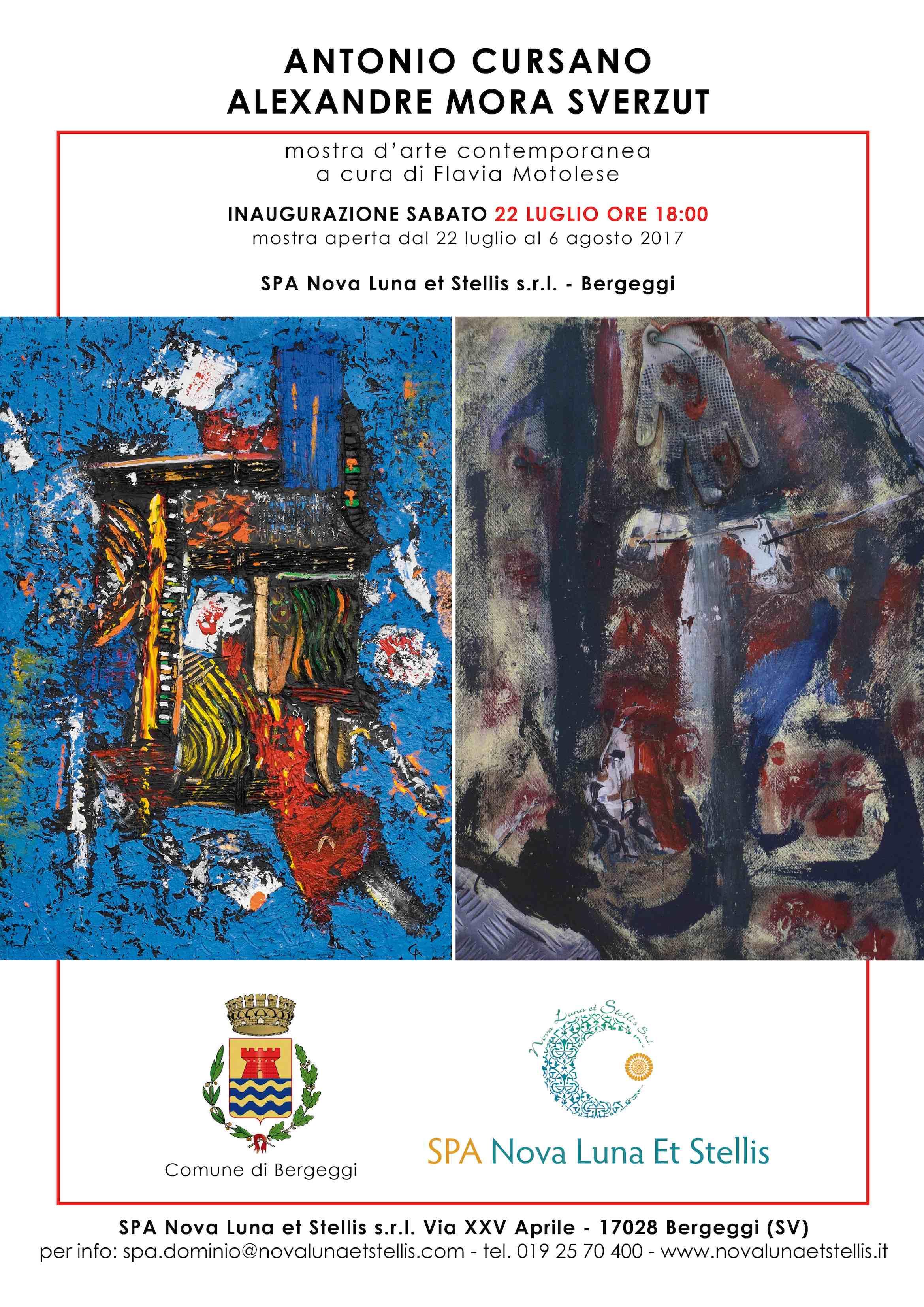 Locandina mostra Cursano & Mora