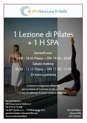 1 Lezione di Pilates + 1 H SPA
