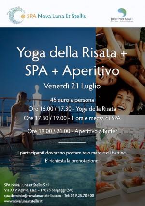 Yoga della Risata + SPA + Aperitivo