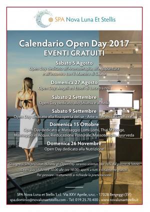 Calendario Open Day!!