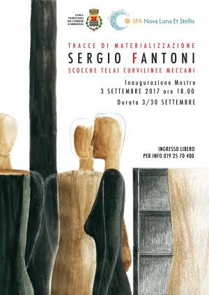 Domenica 3 settembre 2017 alle ore 18.00 inaugurazione della mostra di Sergio Fantoni