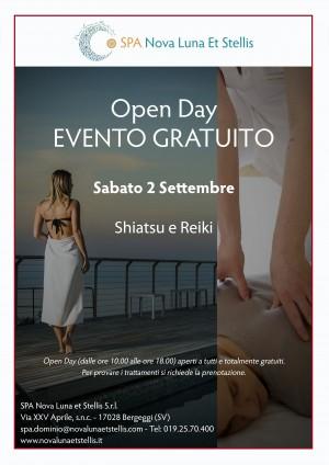 Sabato 2 settembre: OpenDay dedicato allo Shiatsu e al Reiki!