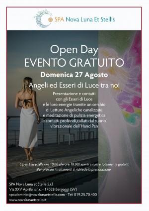 """Domenica 27 agosto: Open Day """"Angeli ed Esseri di Luce tra noi"""" con Valentina Alberti"""
