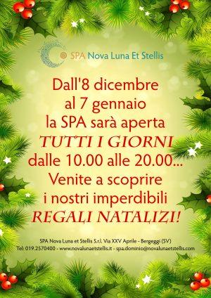 Dall'8 dicembre al 7 gennaio la SPA sarà aperta TUTTI I GIORNI!!!