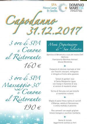 Capodanno 2017: SPA e Cenone al Ristorante!!