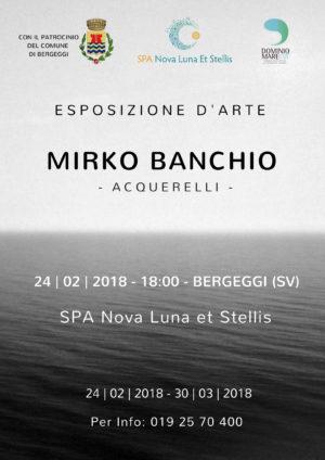 24 febbraio Inaugurazione mostra Mirko Banchio – Acquerelli