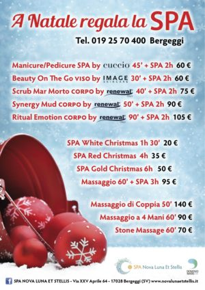 A Natale Regala la SPA!!