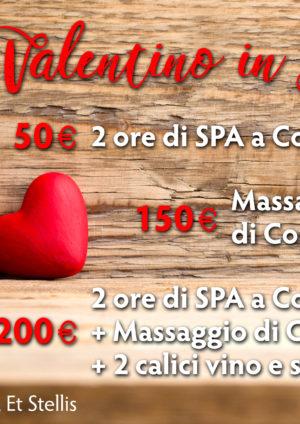 Trascorri il tuo San Valentino in SPA!!