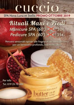 Promo Ottobre 2019: Rituali Mani e Piedi by Cuccio e Scrub Corpo Renewal