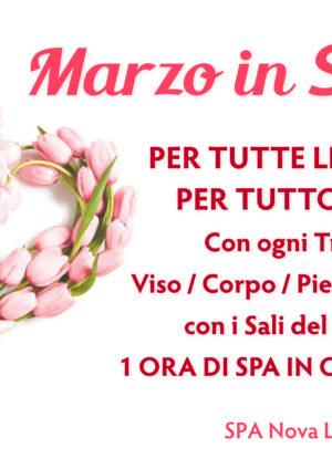 Promo Marzo dedicate alle Donne!